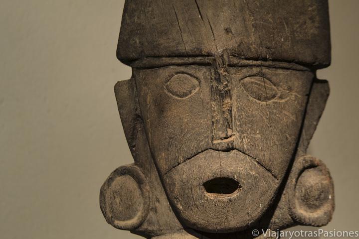 Detalle de un hallazgo del museo de Arte Precolombino en Cuzco, Perú