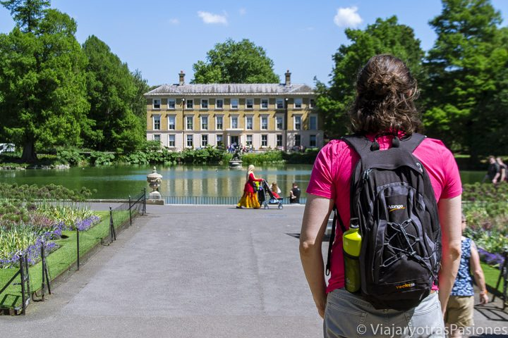Panorama en Kew Gardens, en Londres