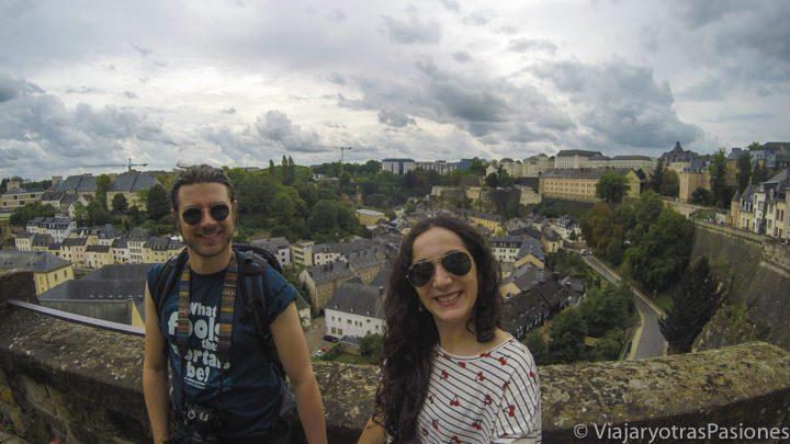 """Le Chemin de la Corniche o el """"Balcón de Europa"""", en Luxemburgo"""