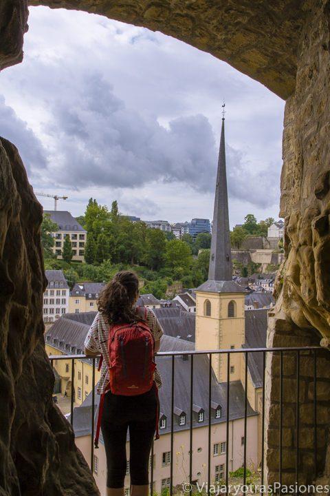 Vista de Luxemburgo desde las Casemates du Bock