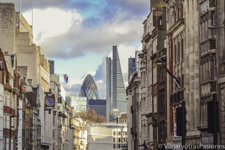 La City de Londres desde Fleet Street