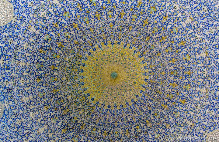 Maravillosa arquitectura iraní en Isfahán, en Irán