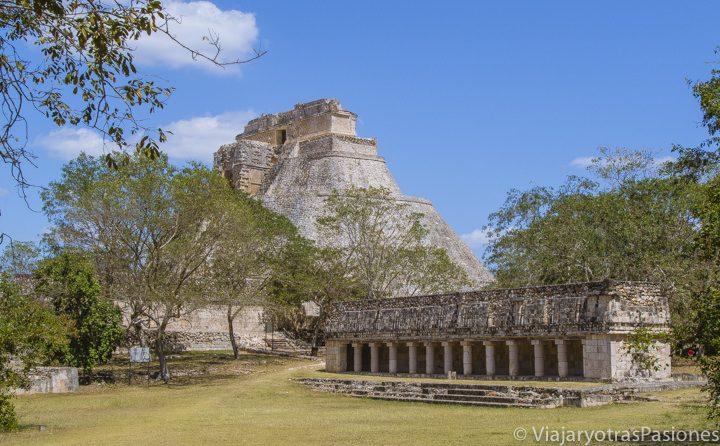 Maravilloso complejo arqueológico en Uxmal