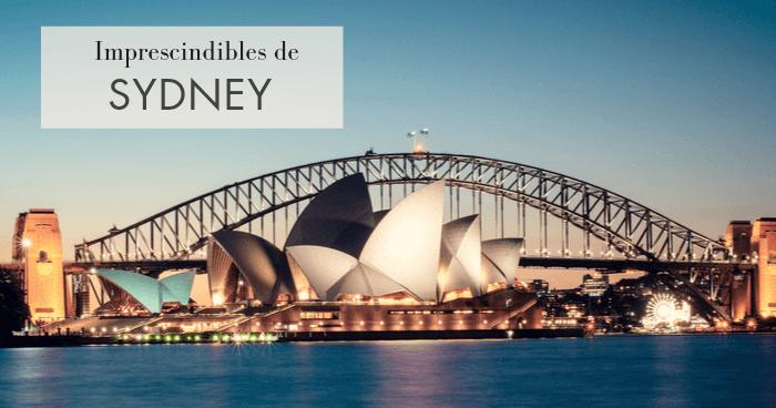 Los 10 lugares que visitar en Sydney imprescindibles