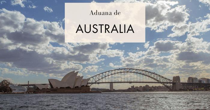 Aduana australiana. ¿Qué se puede llevar al país?