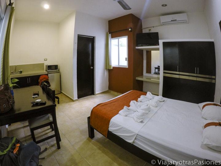Habitación en Valladolid en el Road trip por la Península de Yucatán en México