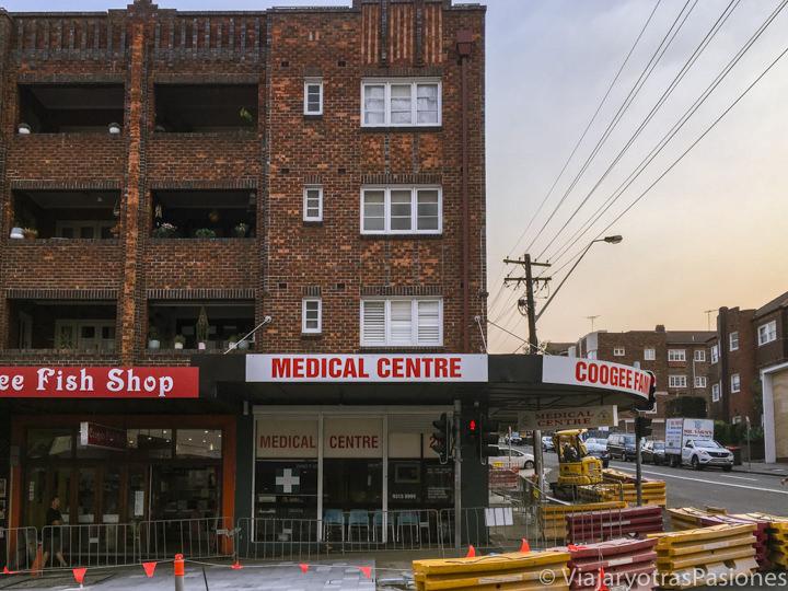 Exterior del medical centre de Coogee, Australia