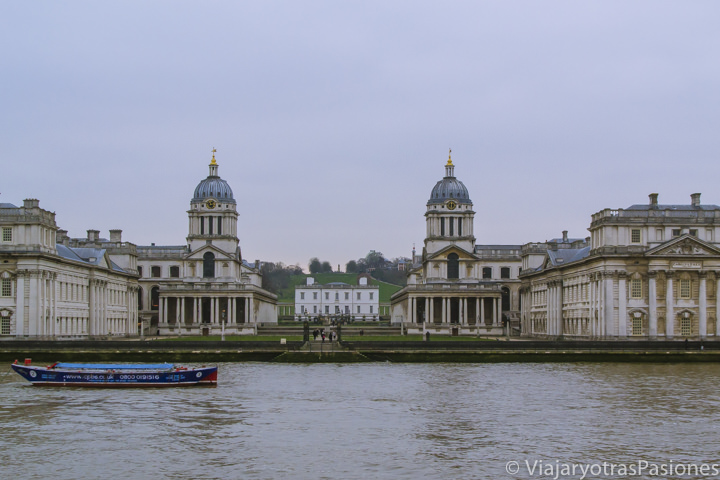 Imagen del Old Royal Naval College en Greenwich, Londres