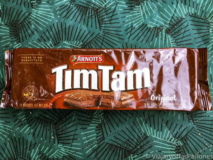 Famoso paquete de los Tim Tam, Australia