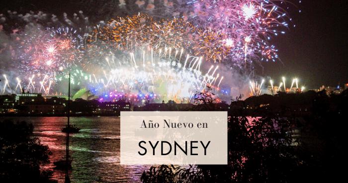 Año Nuevo en Sydney: dónde ver los fuegos artificiales