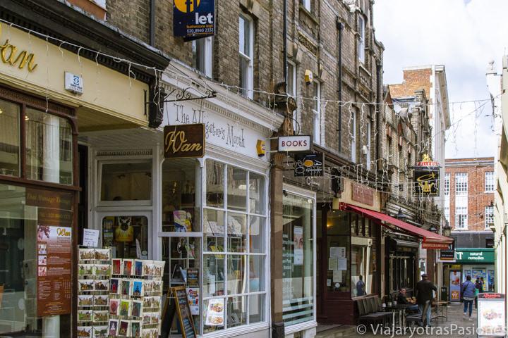 Tiendas en el barrio de Richmond en Londres, Reino Unido