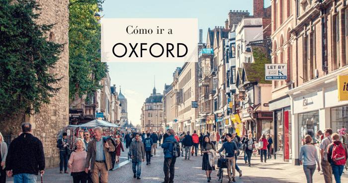Cómo ir de Londres a Oxford en tren, bus o excursión