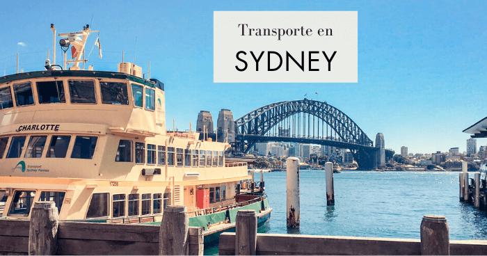 Transporte público en Sydney: Opal card, precios y consejos