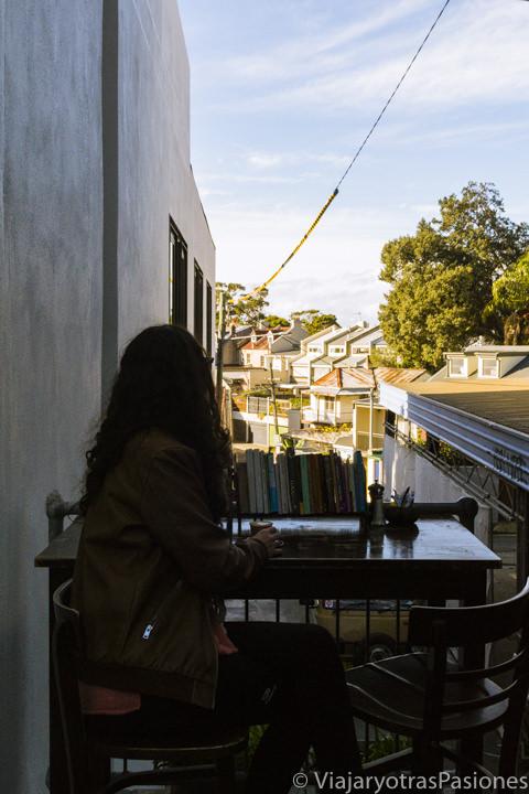 Hermosa vista del barrio de Paddington desde Ampersand Cafe and Books en Sydney