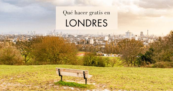 Qué hacer y qué ver en Londres gratis
