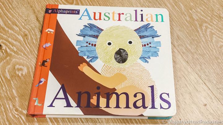 Portada del libro para niños Australian Animals