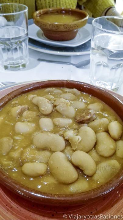 Imagen de los deliciosos judiones de la Granja, en Segovia