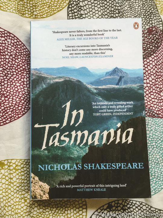 Portada del libro In Tasmania de Nicholas Shakespeare