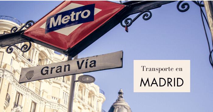 Cómo moverse por Madrid en transporte público