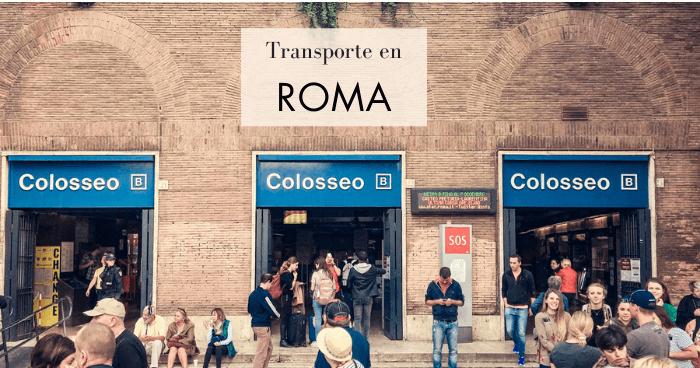 Cómo moverse por Roma en transporte público