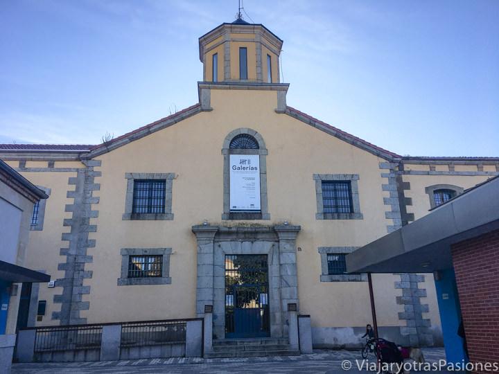 Entrada de la antigua cárcel de Segovia en España