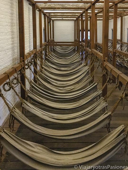 Interior del museo de Hyde Park Barracks en Sydney, Australia