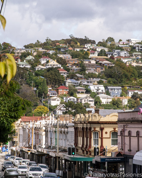 Vista de la ciudad de Launceston en el norte de Tasmania