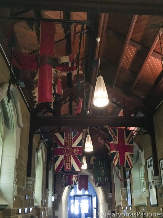 Interior de la catedral de Hobart, Tasmania