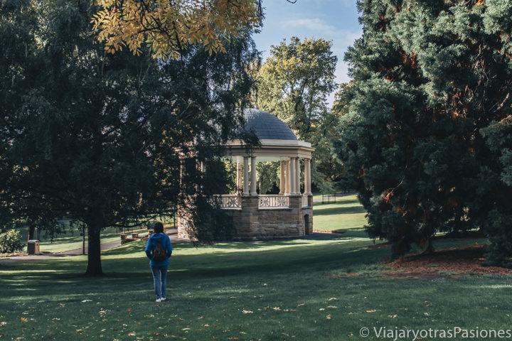 Bonita vista del St David Park en Hobart, en Tasmania