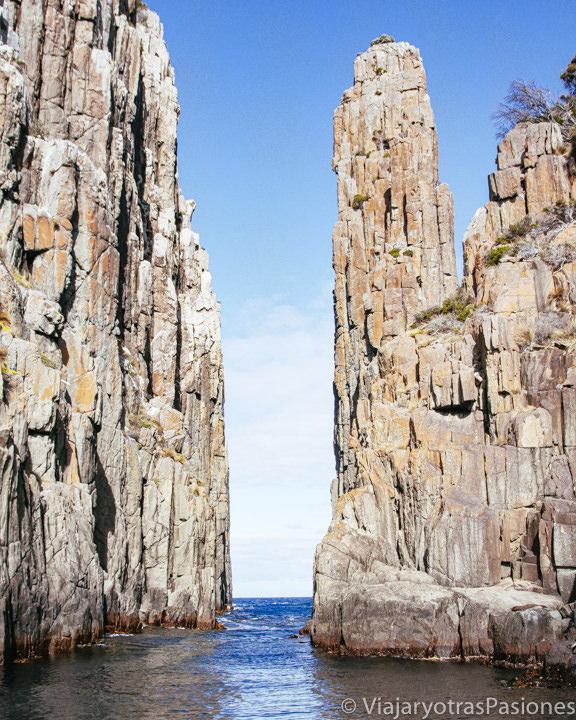 Impresionante vista de Cape Hauy en la Tasman Peninsula, Australia
