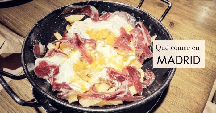 Qué comer en Madrid: 18 platos típicos de la gastronomía madrileña
