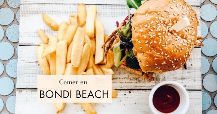 Dónde comer en Bondi Beach barato