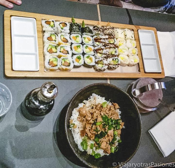 Espectacular sushi en Makisu en Bruselas, Bélgica