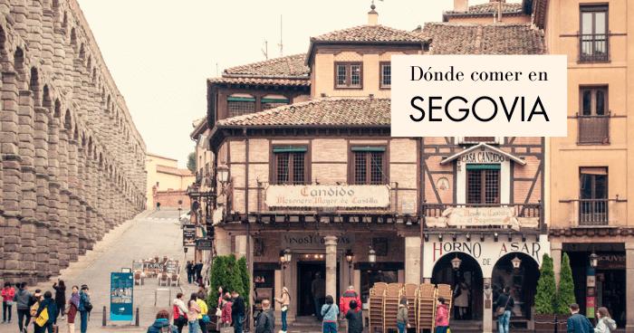 Dónde comer en Segovia: restaurantes recomendados