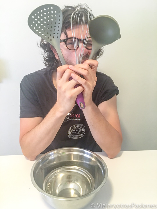 Utensilios para hacer pancakes