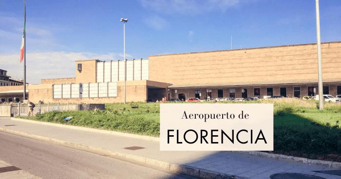 Cómo ir del aeropuerto de Florencia al centro
