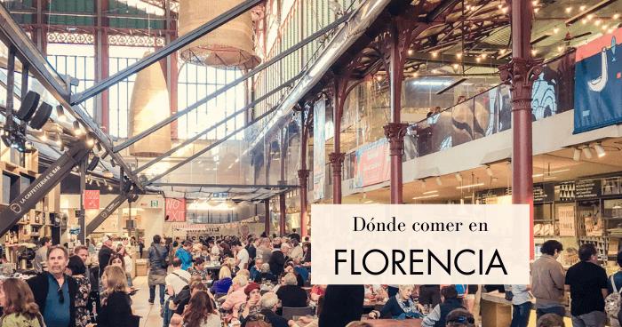 Qué y dónde comer en Florencia