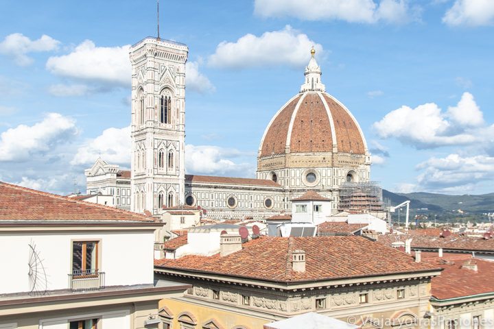 Increíble panorama del Duomo de Florencia en Italia