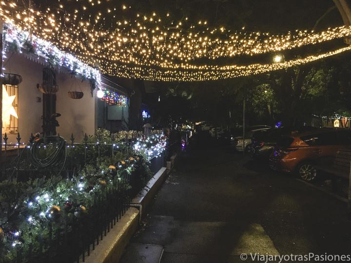 Decoraciones de Navidad en Pleasant Avenue en Sydney