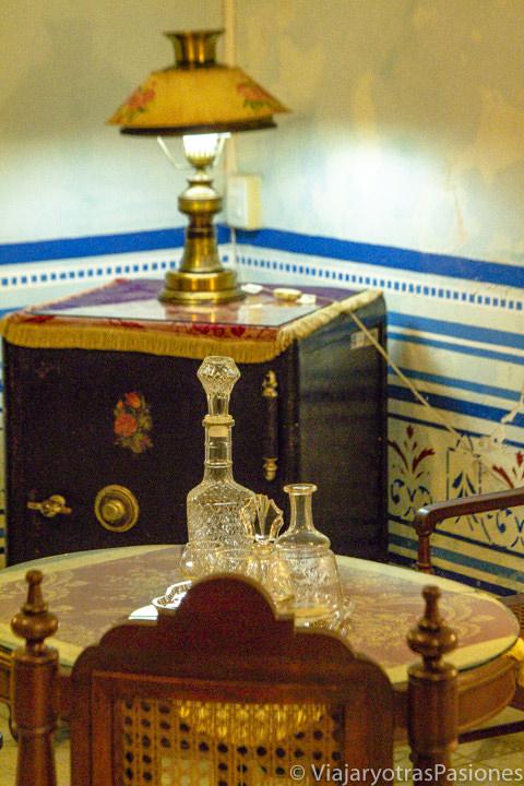 Detalle en el interior del Centro Cultural Casa número 6, Campeche