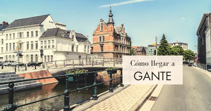 Cómo ir de Bruselas a Gante
