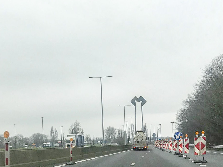 Imagen cerca de la frontera entre Francia y Bélgica