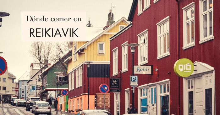 Dónde comer en Reikiavik: 8 restaurantes baratos