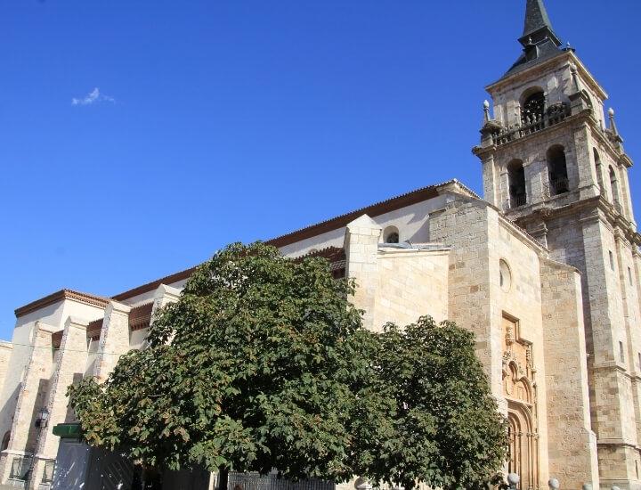 Detalle de la Catedral Magistral de Alcalá de Henares, España