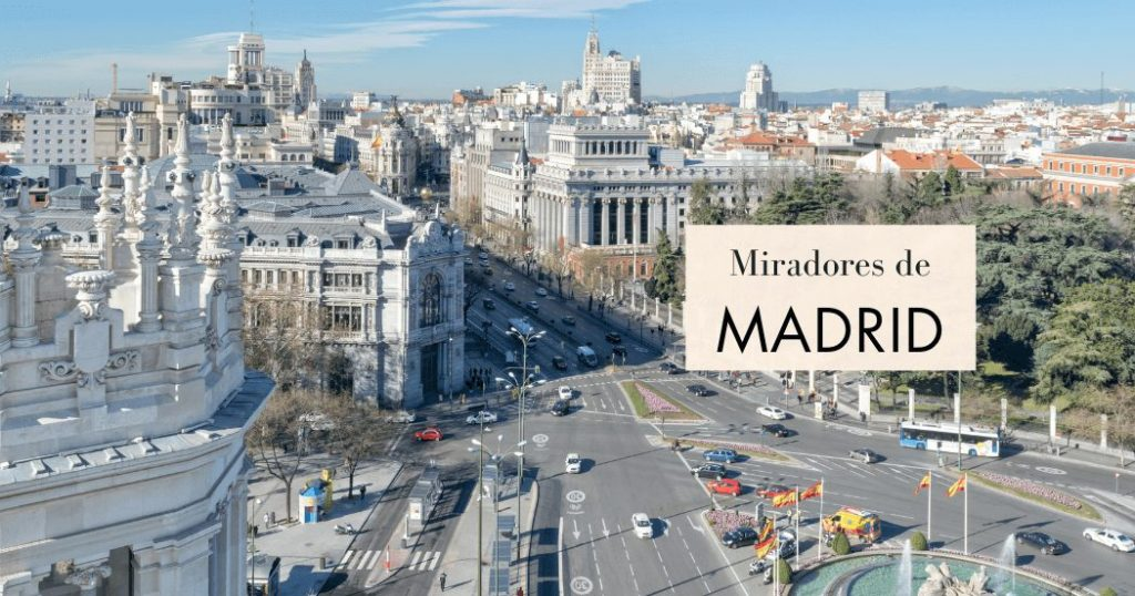 Mejores miradores de Madrid gratis o de pago